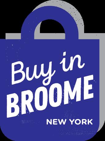 Buy in Broome Shopping Bag Logo