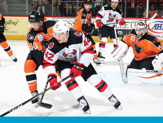 Binghamton Devils hockey game