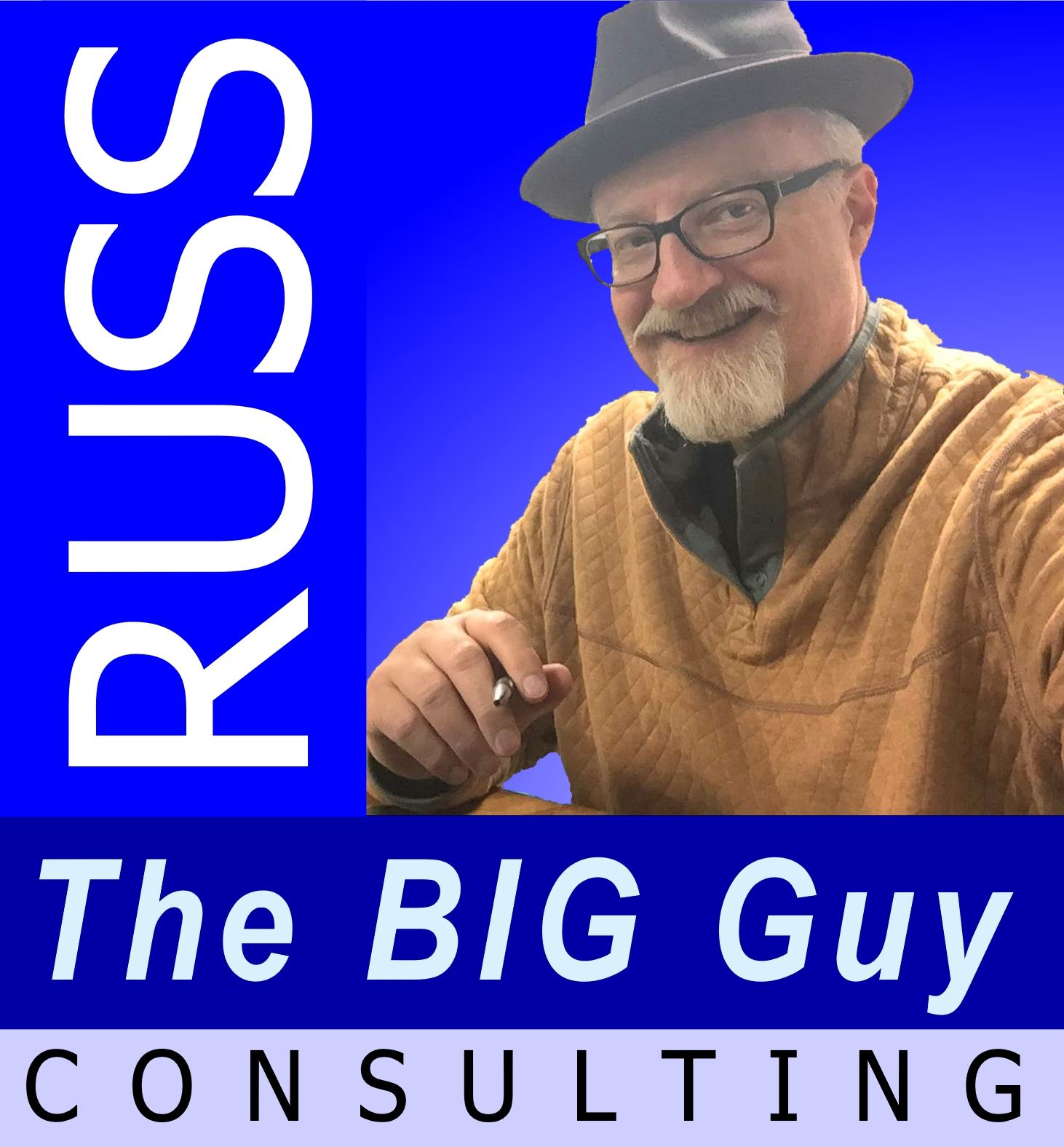 Russ The BIG Guy Swanger headshot